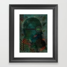 The Ever Curious Botanist Framed Art Print