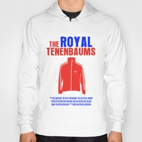 royal tenenbaums Hoodies featuring The Royal Tenenbaums Movie Poster by FunnyFaceArt