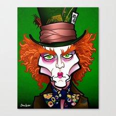 Hatter Canvas Print