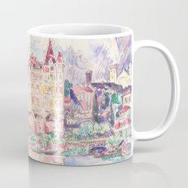 "Paul Signac ""Vue de Montauban sous la pluie (View of Montauban in the rain)"" Coffee Mug"