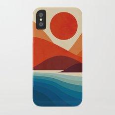 Seaside iPhone X Slim Case