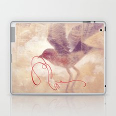The red string Laptop & iPad Skin