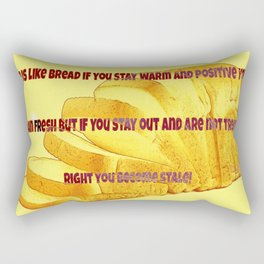 Food For Thought Rectangular Pillow