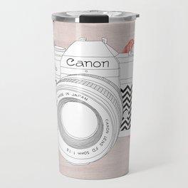 BLOOMING CAN0N Travel Mug