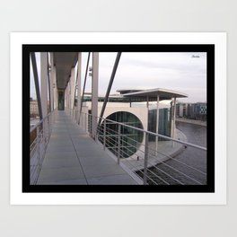 Parliamentary Buildings in Berlin Art Print