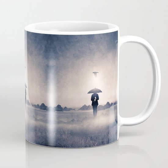 Waiting for the rain (colour option) Mug