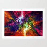 chaos Art Prints featuring Chaos by Robin Curtiss