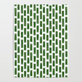 Onion pieces pattern Poster