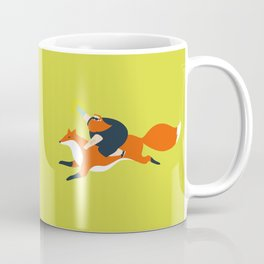 Action in the forest Coffee Mug
