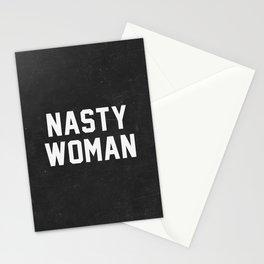Nasty Woman - black version Stationery Cards