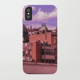 Sherbrooke by Jean-Françcois Dupuis iPhone Case