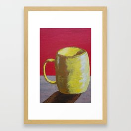 The Morning Cup of Coffee Framed Art Print
