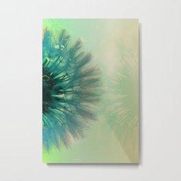 blowing dandelion VII Metal Print