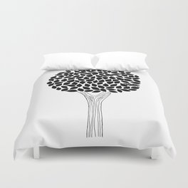 The Tree with a Nest Duvet Cover