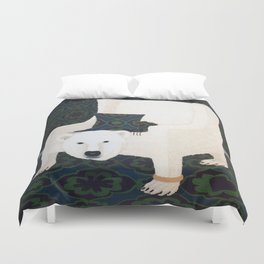 Polar Chair I Duvet Cover