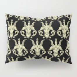 Baphomet Damask Pillow Sham