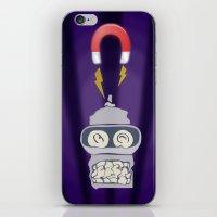 bender iPhone & iPod Skins featuring Broken Bender by Charles  Heales