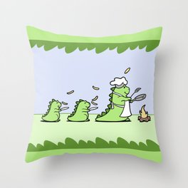 Come and Get It! Throw Pillow