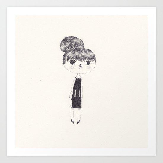 maisie williams Art Print