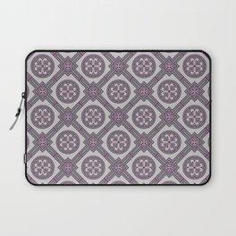 Flourishing Heart Abstract Seamless Pattern Laptop Sleeve