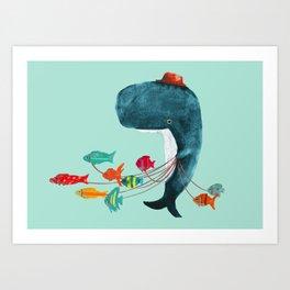 My Pet Fish Art Print