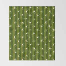 Cactus surface Throw Blanket