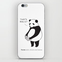 Pandas not Guns iPhone Skin