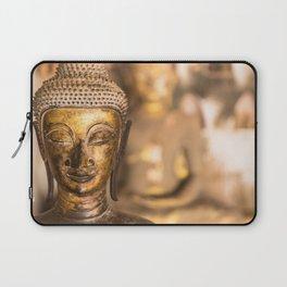 Wat Si Saket Buddhas X, Vientiane, Laos Laptop Sleeve