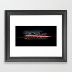A rare firefly Framed Art Print