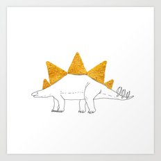 Stegodoritosaurus Art Print
