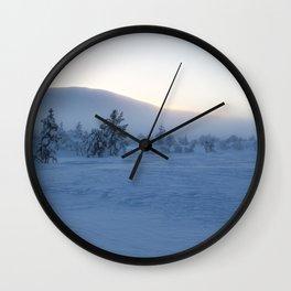 Lapland winter Wall Clock