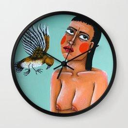 Sweaty Wall Clock