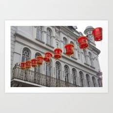 chinatown london 003 Art Print