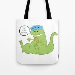 Fizzy Dino Tote Bag