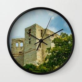 Castle in Kazimierz Dolny Wall Clock