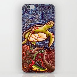 Turtle Power iPhone Skin