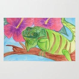 U wanna Iguana Rug