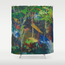 Extra paint Shower Curtain