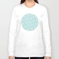 diamond Long Sleeve T-shirts featuring Diamond by Marta Li