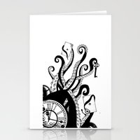 games Stationery Cards featuring Mind Games by Sophie Bland