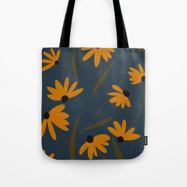 Autumn Floral Pattern Tote Bag