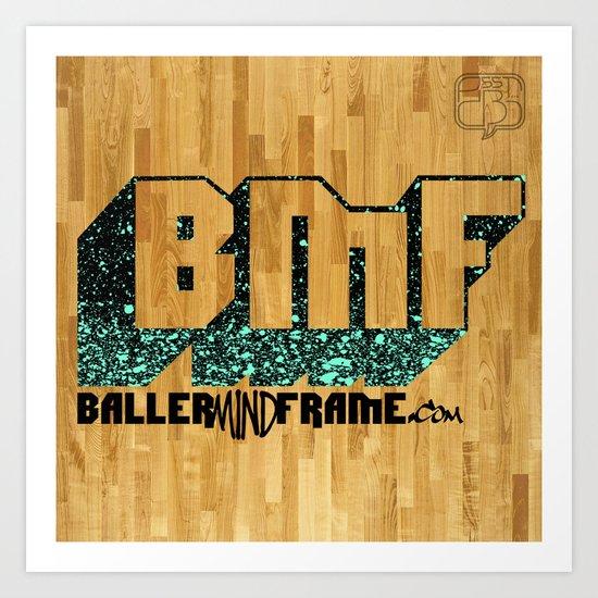 BMF Logo  Art Print