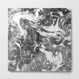 Suminagashi Series (Ying Qi) 营气 Metal Print