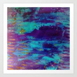 Blue Brane S36 Art Print