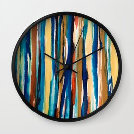 Washed in Color Wall Clock