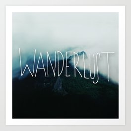 Wanderlust: Columbia River Gorge Art Print