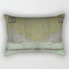 Crumbling Wall Rectangular Pillow