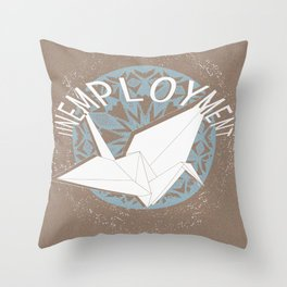 Unemployment - Untitled #1 Throw Pillow