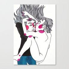 Until the End Canvas Print