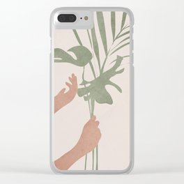 Leafs Clear iPhone Case